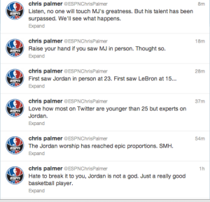 Chris Palmer Tweets